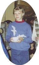 пуловер для сестренки