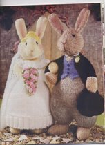 Just Married Bunnies