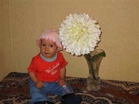 Маргарита и цветок