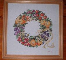 fruit wreath / фруктовый венок