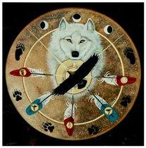 мистический волк