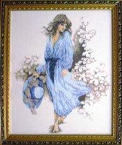 Lady in Blue (#33501, Lanarte)