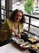 Я в японской столовке