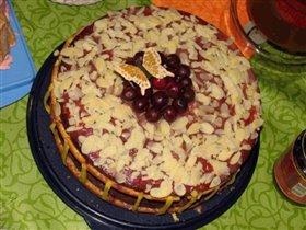 А этот замечательный тортик испекла Симба :)
