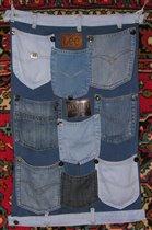 Коврик-саше из старых джинс.