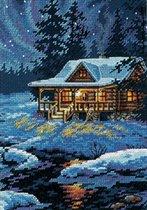 Moonlit Cabin Dimensions