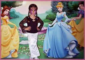 Маленькая Батерфляй на балу принцесс
