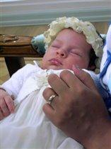 Маленькой принцессе ровно 1 месяц