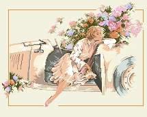 Dame a la Bugatti