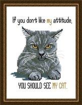 JCD-#178-Cattitudes-The Sixth Litter-My Attitude
