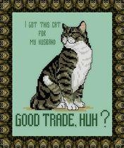 JCD-#178-Cattitudes-The Sixth Litter-Good Trade