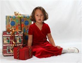 Маленькая принцесса и Новый год.