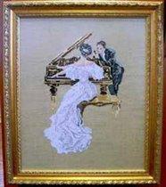 Дама за пианино