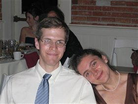 Jim and I at my cousin's wedding