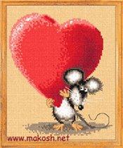 Влюбленная мышь