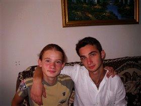 Ростислав и Кирилл в гостях у бабушки