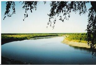 Широка  река Ветлуга