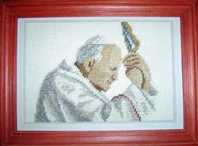 Praying Pope