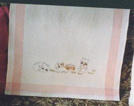 Скатерть с котами