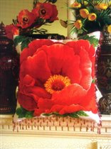Poppies - pillow
