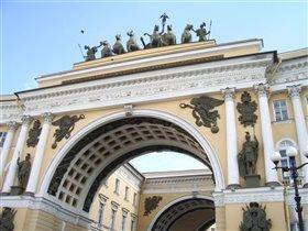Квадрига (арка Гл. штаба)