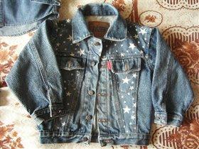 Джинсовая курточка р.104