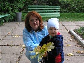 На прогулке в Ботаническом саду