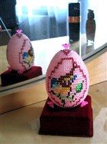 Бисерное яйцо ' Синичка '