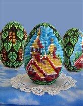 Бисерное яйцо ' Кострома '