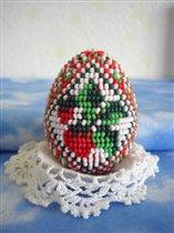 Бисерное яйцо 'Ягодка'