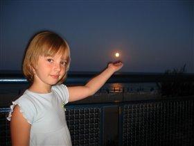 я подарю луну,тебе мамочка!