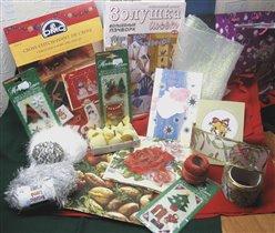 Столько подарков !!!Это посылочка от Tomsika  (или Хомяка? надо бы уточнить:)) и бандеролька от Машеньки-Мурркиной:), а еще открыточка с колокольчиками от Кристины-Fairy