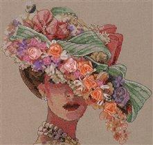 Викторианская элегантность (шляпа)