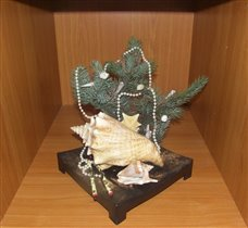Елка в японско-морском стиле