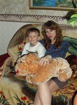 на диване с Андюшкой