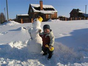 как вам мой снеговик?