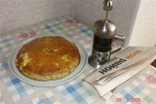 мужской завтрак:)