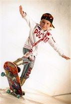 Пашка скейтбордист