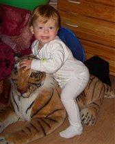 на тигре