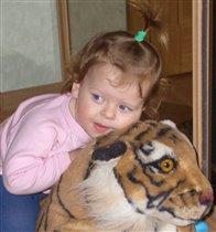 с тигром