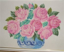 Розовые розы :)