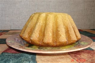 кекс лимонный от И.Кутовой