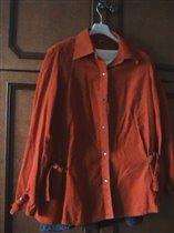 Рубашка-блузка для бер, р.46, рост 165-170, 200 руб