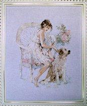 Girl & Dog Lanarte