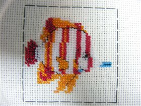 ����� � backstitch'��