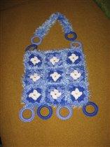 вязанная сумочка