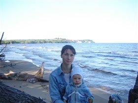 На Онежском озере с моей любимой рыбкой