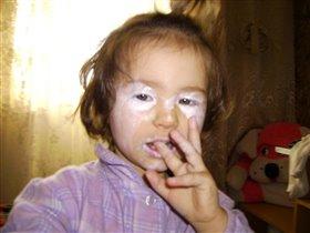 первые уроки макияжа