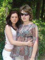 Анютка в животике у мамы