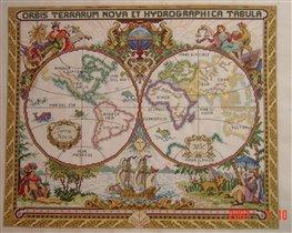 Карта мира от Janlynn